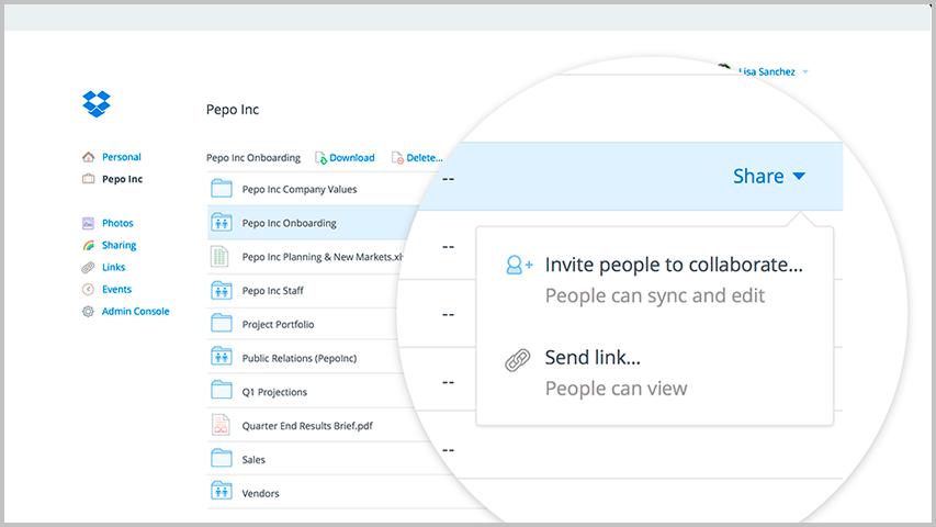 Dropbox-Employee-Productivity-Tool