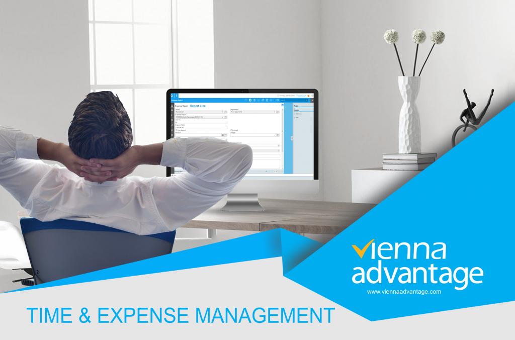 Effective Time Management: Vienna Advantage Time & Expense Brochure