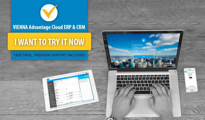 VIENNA Advantage ERP CRM Try