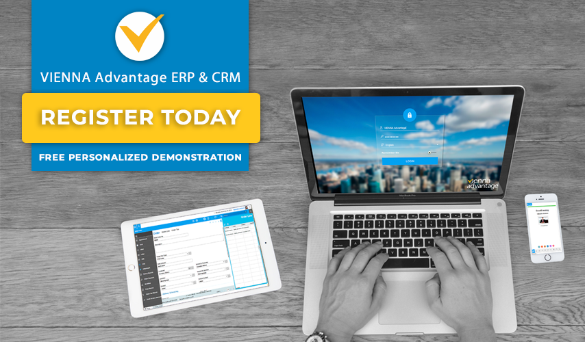 VIENNA Advantage enterprise ERP and CRM - Free personalized demonstration